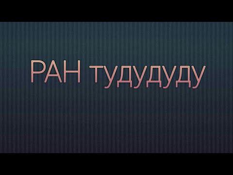 Мульты РАН тудуду ду