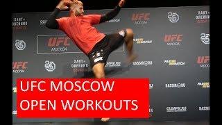 UFC MOSCOW   JAN BLACHOWICZ OPEN WORKOUT
