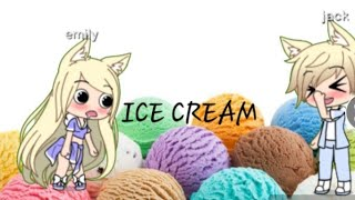 Bad boy fell in love with a normal girl/gacha life/eps 2/ICE CREAM TIME