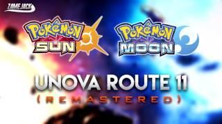 Unova Route 11 (Summer) - Pokémon Sun & Moon Style