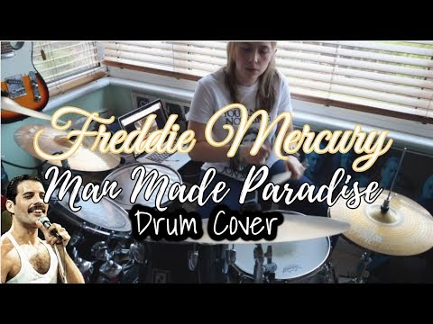 Freddie Mercury|| Man Made Paradise Drum Cover