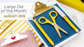 Spellbinders June 2019 Large Die of the Month – Festive Wreath