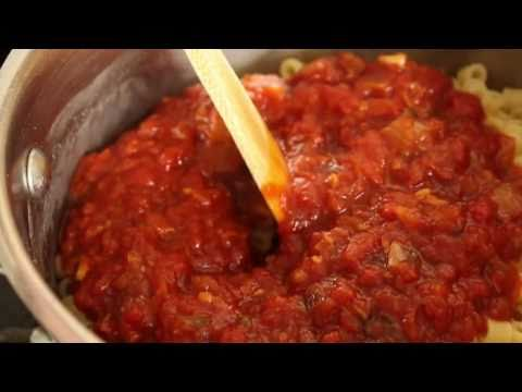 Pasta with Roasted Tomato Sauce – Ditalini with Roasted Tomatoes