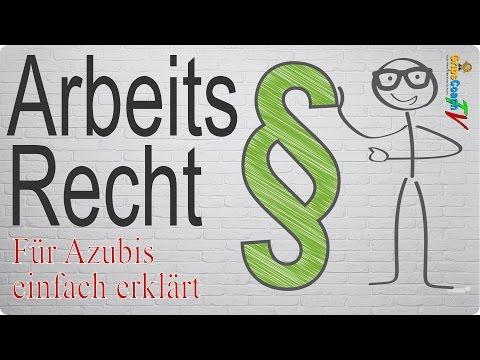 Arbeitsrecht einfach erklärt - Prüfungswissen für Azubis ★ GripsCoachTV