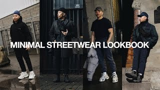 MINIMAL STREETWEAR OUTFITS / Mens Fashion Lookbook