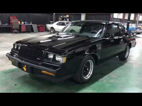 Video of 1987 Buick Grand National Offered by PC Investments - QE6R