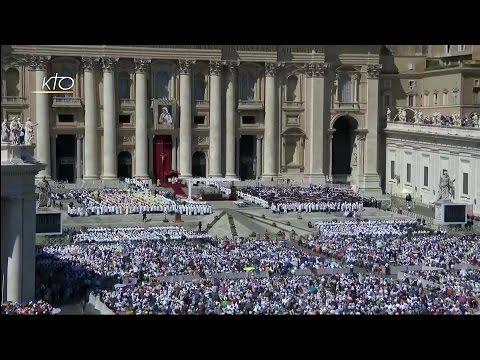 Messe et Canonisation de la bienheureuse Mère Teresa
