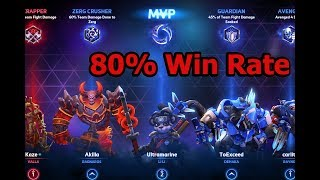 HotS Guide Li Li - How To get 80% Win Rate MVP 2019 - Heroes of the Storm - ranked Gameplay