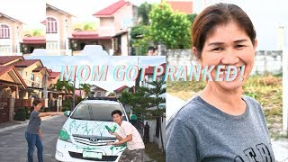 PININTURAHAN KO CAR NI MOMMY!! [prank]