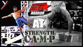 American Ninja Warrior At Strength Camp