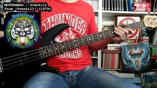 MOTÖRHEAD - Overkill (bass cover w/ Tabs)