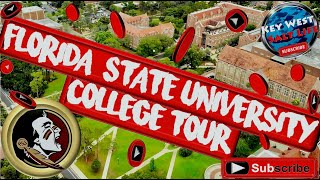 ❤️ Florida State University (FSU) Campus Tour  2020  (4K)
