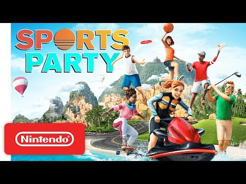 Sports Party - Launch Trailer - Nintendo Switch thumbnail