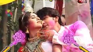 Diya -Ratan LOVE HOLI In 'Rishta Likhenge Hum Naya'