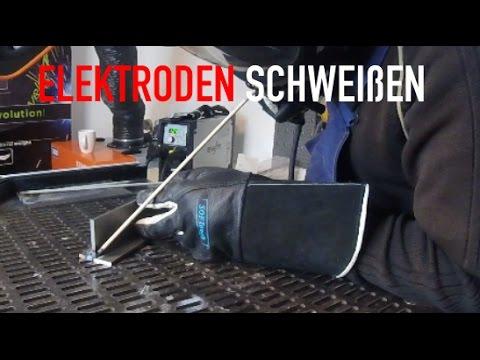 Elektrodenschweißen Schweißkurs - Grundlagen zum Elektrodenschweißen - lernen