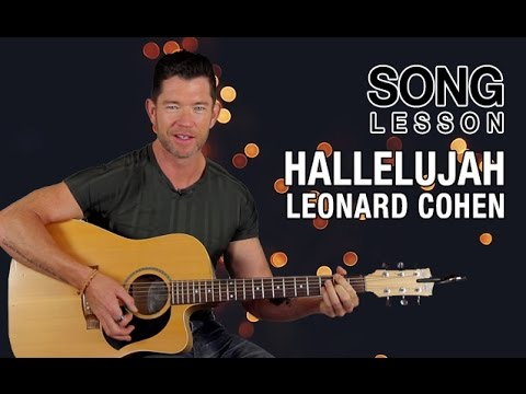 How to Play 'Hallelujah' on Guitar - Leonard Cohen - Acoustic Guitar Lesson