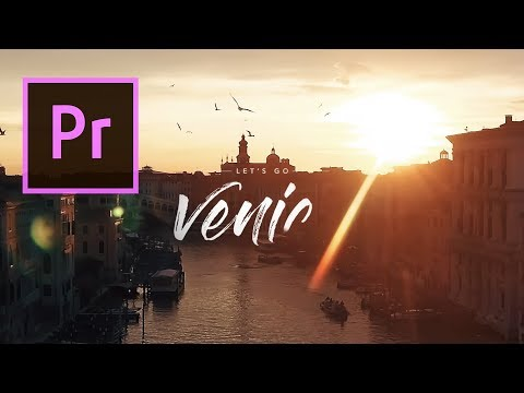 BEAUTIFUL DESTINATIONS WRITE-ON TEXT EFFECT – ADOBE PREMIERE PRO TUTORIAL