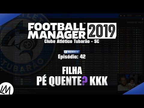 TORCENDO JUNTOS! - #42 - Clube Atlético Tubarão / Football Manager 2019 (FM 2019) - Pt Br