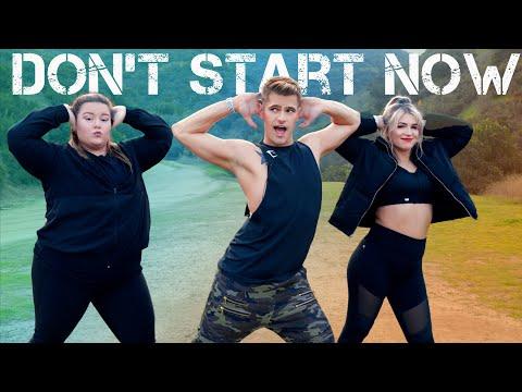 Dua Lipa - Don't Start Now   Caleb Marshall   Dance Workout