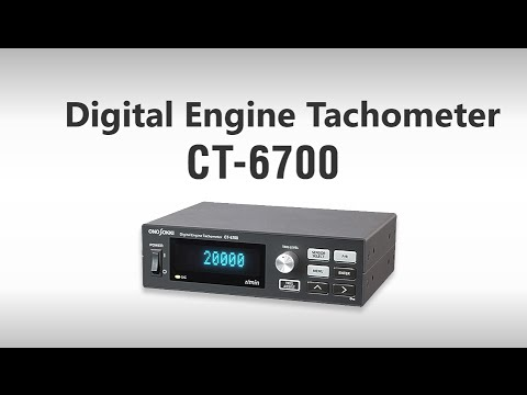 Universal Engine  Tachometer