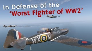⚜ | In Defense Of The 'Worst Aircraft Of World War 2'   Boulton Paul Defiant