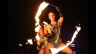 Hochwertige Feuershow für Veranstaltungen mit Entertainment von Project PQ