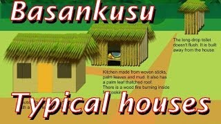 preview picture of video 'Basankusu: typical houses in the Congolese rainforest'