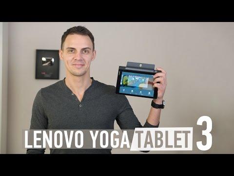 Lenovo Yoga Tablet 3: обзор планшета