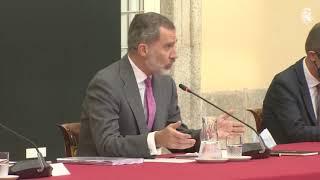S.M. el Rey preside la reunión del Patronato de la Fundación COTEC