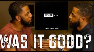 """2 CHAINZ (FEAT. DRAKE AND QUAVO) """"BIGGER THAN YOU"""" REACTION AND REVIEW #MALLORYBROS 4K"""