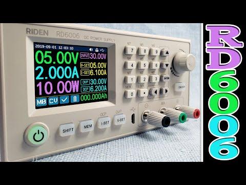 RIDEN RD6006-W: понижающий DC-DC конвертер напряжения от RD Tech на 60V/6A/360W, который удивил