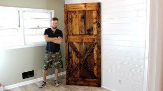 The $40 Barn Door - Easy DIY Project