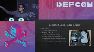 DEF CON 25 - Dennis Maldonado - Real time RFID Cloning in the Field