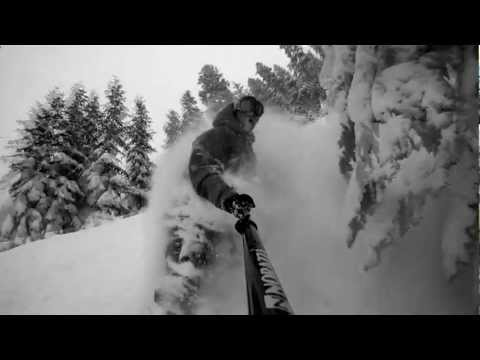 Snowboarding Short - Lushbomb - Day Dreamin' of Powder days