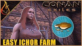 Easy Ichor Farm Conan Exiles 2018 Beginner Tips