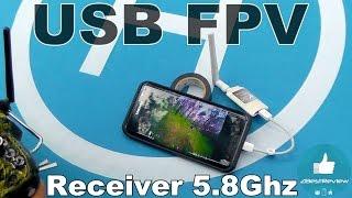 ✔ Бюджетный FPV приемник для телефона! USB OTG 5.8Ghz Receiver for Android!