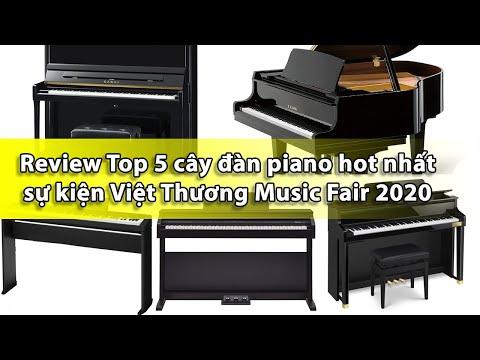 Review Top 5 cây đàn piano hot nhất sự kiện Việt Thương Music Fair 2020