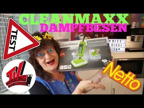 CLEANMAXX DAMPFBESEN AUF DEM PRÜFSTAND - TAUGT DER WAS?