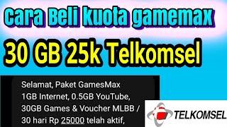 cara Membeli Paket GameMax Telkomse menggunakan Kode Dial