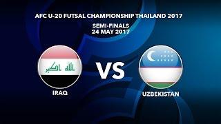 Watch AFCU20FC semifinal: Iraq v Uzbekistan