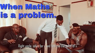 When Maths is a problem藍