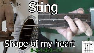 Смотреть онлайн Как играть песню Stingа на гитаре для начинающих