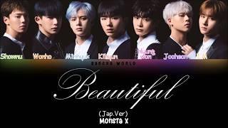 Monsta X (몬스타엑스) - Beautiful (Japanese Version) (COLOR CODED/HAN/ROM/ENG)
