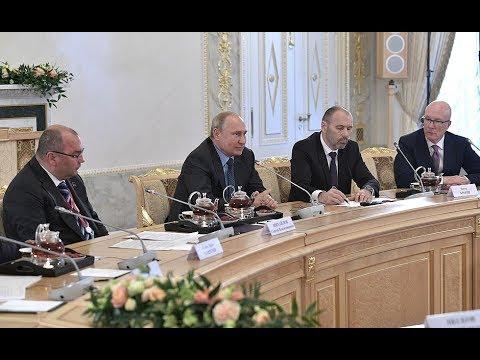 Встреча с главами мировых информагентств