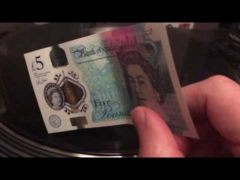 Playing Music with British Bank Notes