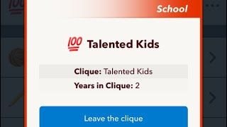 How to join the Talented Clique in BitLife! (read desc)