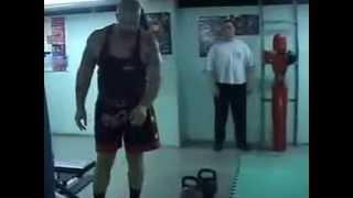 С Бадюк   упражнения с гирями, штангой для бойцов и не только