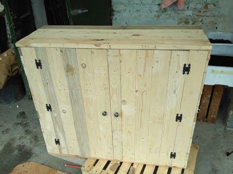 Mobiletto con pallets riciclati  - DIY