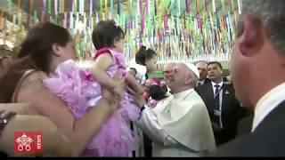 Papa al carcere femminile: esigete il reinserimento sociale
