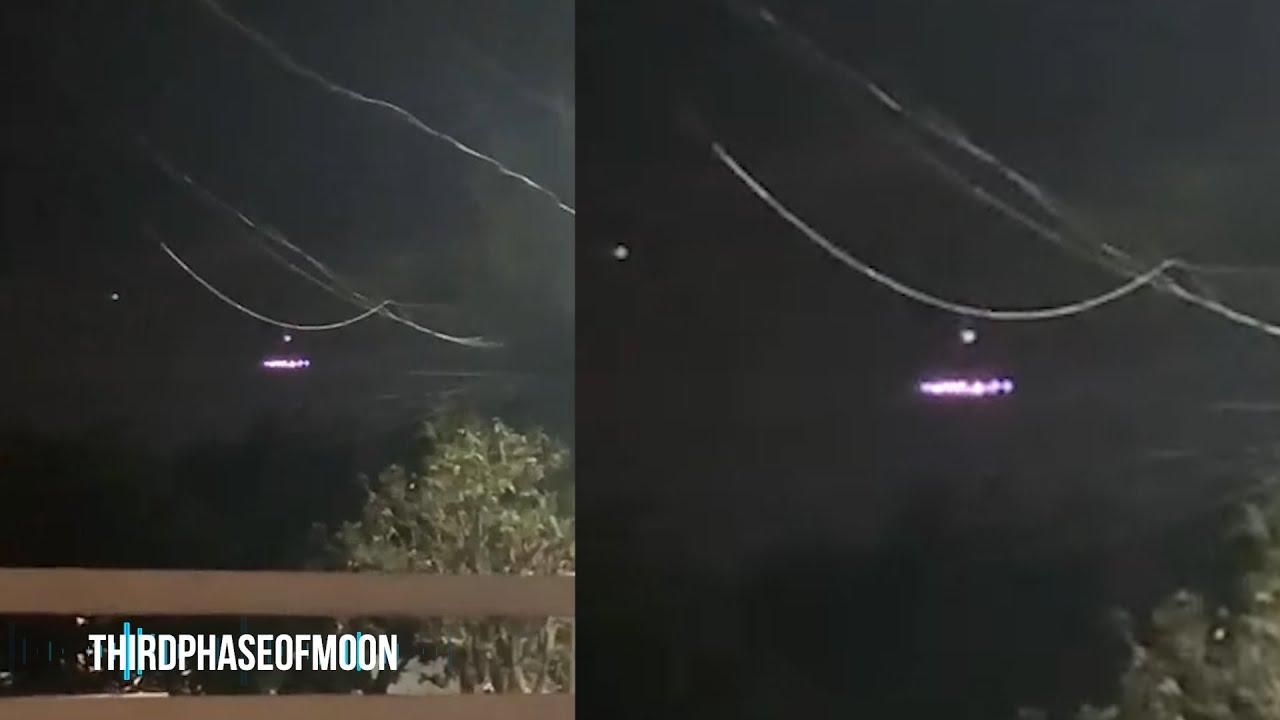 Massive UFO Lands In Womans Backyard? 2020